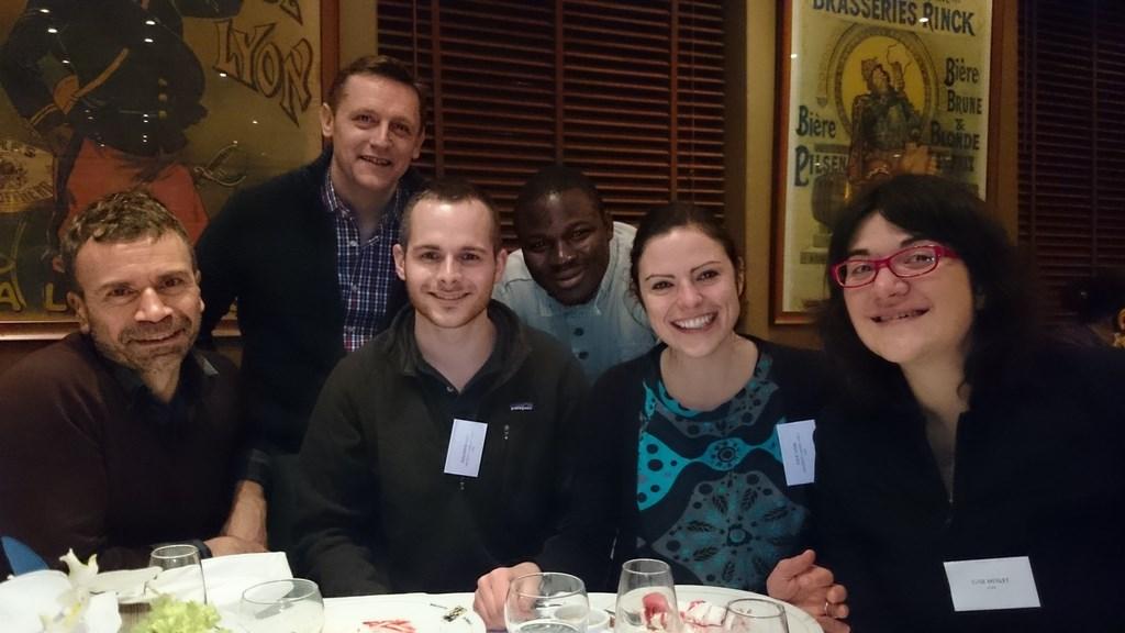 Les doctorants au colloque de l'ACEDLE -Janvier 2015